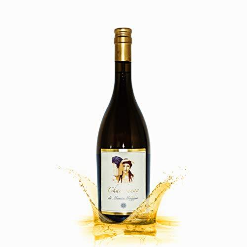 Chardonnay di Montemaggio - Dry Organic Luxury Fine Wine from Italy - Glass cork - Fattoria di Montemaggio - Vintage 2018 - 0.75L