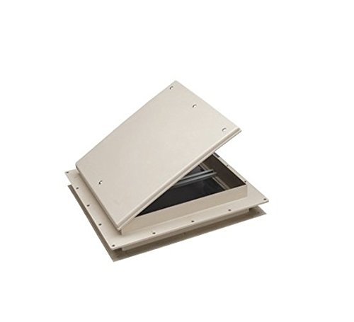 Preisvergleich Produktbild Heng 's 17511-c1g Escape Hatch/Exit Vent, 22,9x 22,9cm–Kolonial weiß