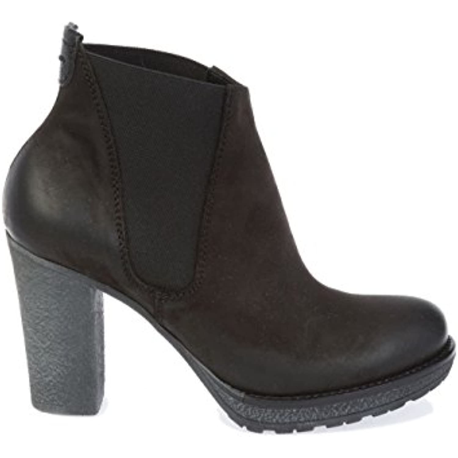 DONNAPIU' Femme Femme DONNAPIU' 7931NERO Marron Cuir Bottines - B0799S9F6X - 04e9bb