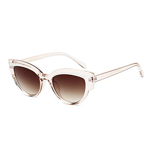 Yiph-Sunglass Sonnenbrillen Mode Cat Eyes Sonnenbrille für Damen UV-Schutz Dark Lens Outdoor Driving Travelling Summer Beach (Farbe : C6)