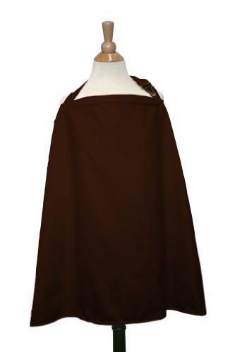 The Peanut Shell Nursing Cover (Chocolat)