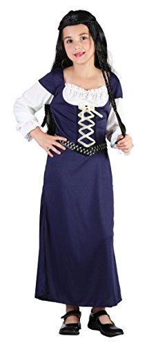 Maid Marion - Kinder-Kostüm - Large - 134 bis 146 cm (Maid Marion Kostüm Kostüm)
