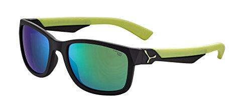Cébé Kinder Avatar Sonnenbrille, Black Lime, Small (Lime Green Sonnenbrille)