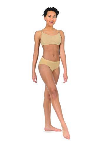 Silky Womans Dance Seamless High Cut Brief