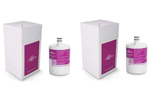 2X SELTINO SLG-500 Service, ver. Zwei der Besten Wasserfilter für Smeg Atag, LG Ersatz für LT500P, 5231JA2002B 5231JA2002A