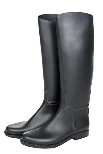 HKM Unisex Erwachsene 9678 Reitstiefel Bern, Stiefel Standard, Gewebeeinsätze