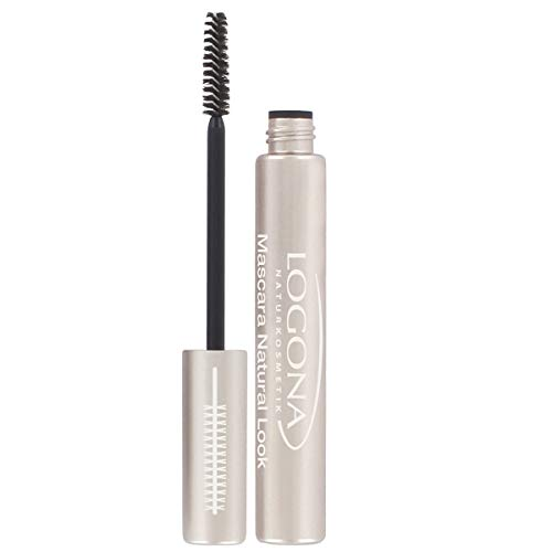 Logona, Mascara Natural Look, Black, 8 ml