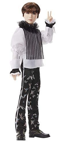 BTS Muñeco Deluxe Suga , figura de colección premium, miembro banda coreana (Mattel GKD00)