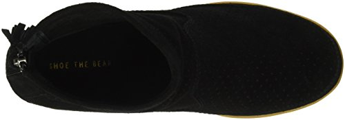 Shoe the Bear Emmy, Sneakers Hautes Femme Noir (Black)