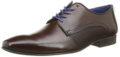 Azzaro Nabou Herren Schuhe mit Schnürung Marron (Châtaigne)