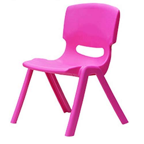 HOUSEHOLD Silla de plástico para niños, Silla de Estudio para niños con...