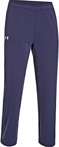 Under Armour Herren UA Rival Fleece Team Hose xl Midnight Navy/ White (Sweatsuit Navy)