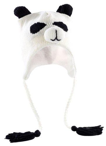 PEARL urban Lustige Mütze: Tiermütze Panda, universelle Größe (Witzige Mütze)
