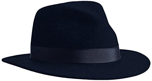 Bailey Curtis Bonnet, Bleu Marine, L Mixte