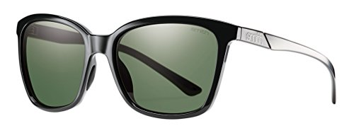 Optics Smith Von Sonnenbrille Für Damen (Smith Colette/N Sonnenbrille Damen Shiny Dark Burgunder/Black Out, damen, Smith Colette/N, Shiny Black/Grey Green)