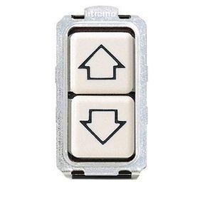 Bticino 5055/1doble pulsador 1P No 10A con flechas Magic