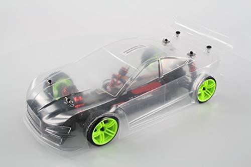 RC Auto kaufen Drift Car Bild: LC Racing Brushless Drift Car EMB TCD 1 10 Brushless Antrieb bis zu 80 Km h m glich (mit 3S Akku) Spritzwasser gesch tzte Elektronik 4 Rad Antrieb komplett Kugelgelagert Aluminium ldrucksto d mpfer Aluminium Kardanwelle gekapselter Antrieb Carbon Tuningteile erh ltlich Ready to Run diverse Umbaum glichkeiten 2,4GHZ Fernsteuerung Schnellladeger t und Fahrakku enthalten*