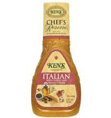 Ken's Chef's Reserve Italian Dressing with Garlic And Asiago Cheese