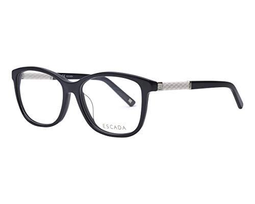 Escada Brille (VES-318 0700) Acetate Kunststoff schwarz glänzend - weiߟ