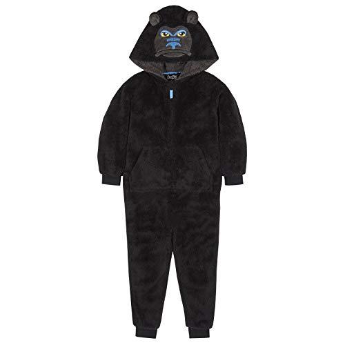 ONEZEE Jungen Schlafanzug Gr. 9-10 Jahre, Ubs-18c431-gorilla-onesie