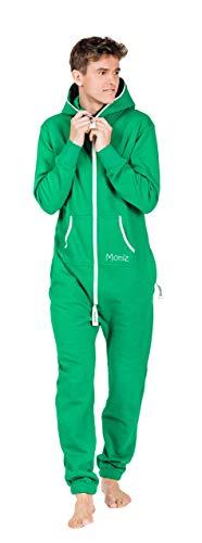 Moniz Herren Jumpsuit, grün, Größe -