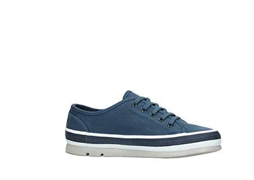 Wolky Comfort Sneakers Linda - 96830 blau Canvas - 39