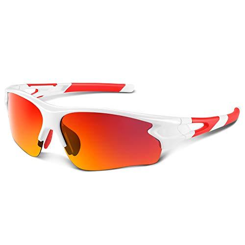 59e893257c Gafas de Sol Polarizadas - Bea·CooL Gafas de Sol Deportivas Unisex  Protección UV con Monturas Ligeras para Esquiando Ciclismo Carrera Surf  Golf ...