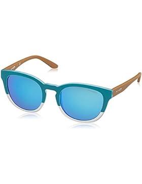 Arnette Cut Back, Gafas de Sol Unisex, Matte Turquoise/Matte 242125, 53