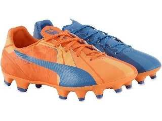 Puma evoSPEED 4 Head To Head FG Fußballschuh Kinder 3.5 UK - 36.0 EU -