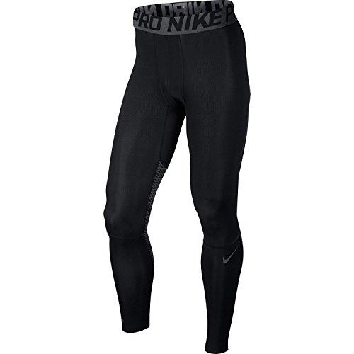 Nike Collant contenitivi Hyper cool, 801225, Uomo, Hypercool, Grigio scuro/nero, M