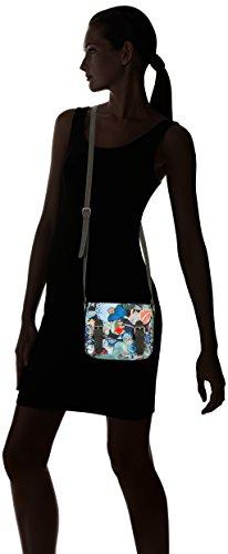 Oilily Oilily Micro Satchel, Borsa a spalla donna Multicolore ((Black Ink 538)