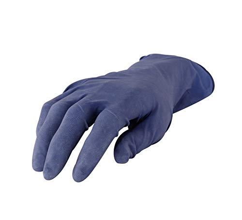 Nitrilhandschuhe I ungepudert I Handschuhe Gr. XL I Dispender-Box 100 Stück I Einweg-Handschuhe I Lackieren Lackierzubehör I Nicht steril I Optimales Tastgefühl auch für feinste Arbeiten