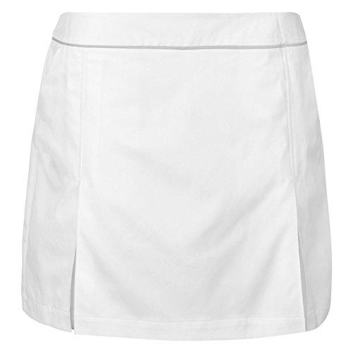 Ashworth Damen Golf Skort Taschen Weiß S (Golf Rock Damen)