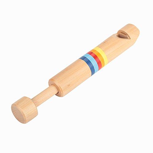 RiToEasysports Hölzerne Fipple Piccolo, pädagogische Holzflöte Instrument Kinder Spielzeug Geschenk
