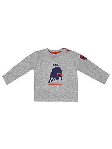 Automobili Lamborghini Jungen T-Shirt Big Bull Lamborghini Baby Grey 24 Months (Automobil-shirts Für Männer)