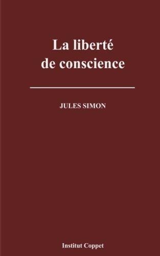 La liberte de conscience par Jules Simon