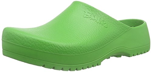Birkenstock Super-Birki Unisex-Erwachsene Clogs, Grün (Apple Green), 40 EU Apple Green Leder