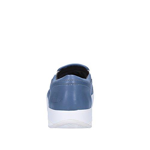 MBT Mocassini Uomo Pelle Blu