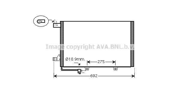Aroba AR9846 voll Ladekantenschutz passgenau mit Abkantung ABS Sonderfarbe CARBON OPTIK