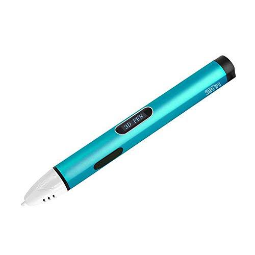 MEILI 3D Stift PLA ABS Filament 3D Drucker Stift 3D Bleistift 3D Druckstift für Schule Gadget,Blue