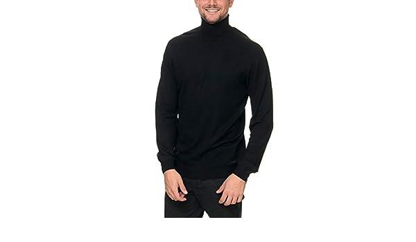 1c502d692711 SORBINO UOMO Men s Dolcevita Pullover Black in Size XXX-Large  Amazon.it   Abbigliamento