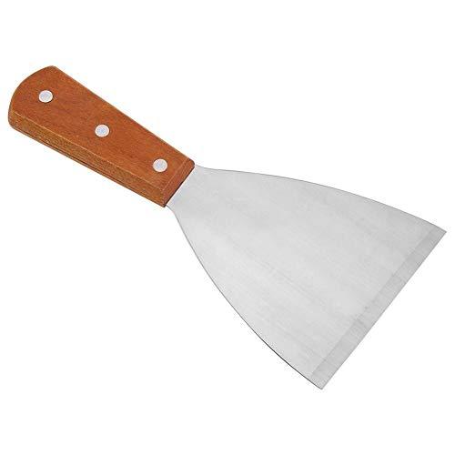 Espátula triangular fuerte para plancha de cocina