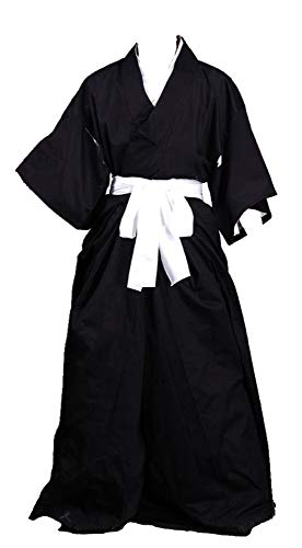 Shinigami Ichigo Kostüm - Chong Seng CHIUS Cosplay Costume Black Male Kimono Kurosaki Ichigo Shinigami Version 1