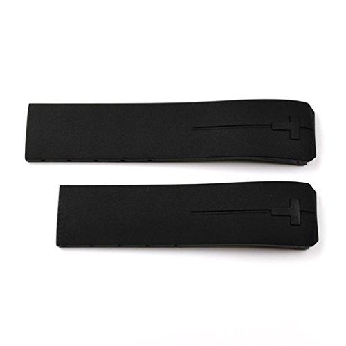 Tissot T610026464 Cinturino in Gomma, nero, per Tissot Touch Expert e...