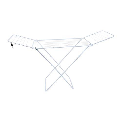 Gimi Jolly - Tendedero X-legs de acero con alas plegables,...