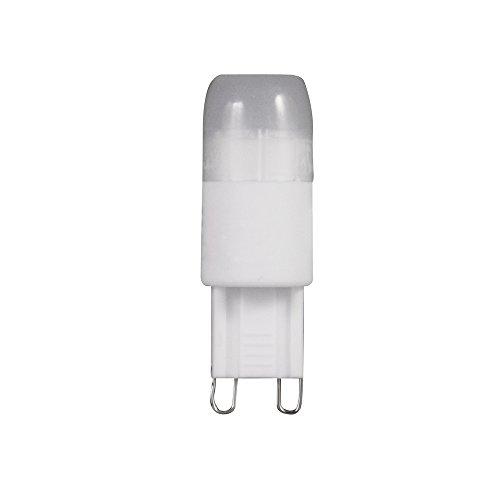 Müller-Licht 24604 Ampoule Led Céramique G9 Avec Angle D'éclairage 180° Et Classe D'efficacité Énergétique A+ 2 W 230 V 140 Lm 3000 K