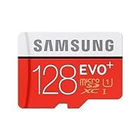 Carte mémoire Samsung micro SD Evo 128 Go avec adaptateur SD : - Adaptateur SD : permet de transformer la carte micro SD en carte SD - Compatible avec les appareils équipés d'un lecteur de carte micro SD/SDHC acceptant la capacité de la carte - Ca...