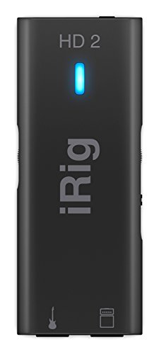 IK Multimedia iRig HD 2 Interfaccia audio digitale per chitarra e basso