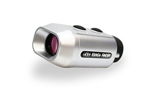 Posma GF200, Golf-Entfernungsmesser, digitaler Entfernungsmesser in Taschengröße mit 7-facher Vergrößerung, misst Yards und Meter, mit Beutel