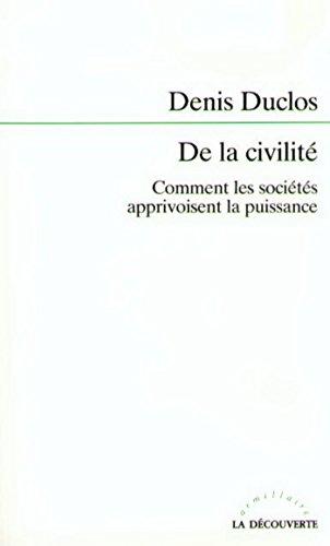 De la civilité pdf ebook